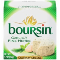 Boursin Garlic & Fine Herb Gournay Cheese