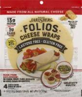 Folios Gluten Free Jarlsberg Cheese Wraps - 4 ct / 6 oz