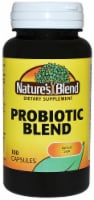 Nature's Blend Probiotic Blend Capsules 100 Count