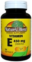 Nature's Blend Vitamin E Softgels 450mg 100 Count - 100 ct