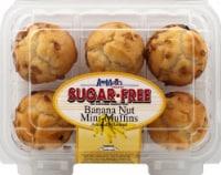 Ann Marie's Sugar Free Banana Nut Mini Muffins 6 Count
