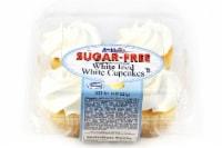 Ann Marie's Sugar Free White Iced White Cupcakes