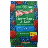 Wyman's Cherry Berry & Kale Frozen Fruit Mix