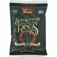 Unique Snacks SourDough Craft Beer Pretzel Ring,  2.12oz (Pack of 24)