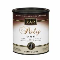 UGL ZAR® Clear Semi-Gloss Polyurethane Finish - 1 qt