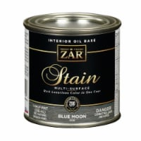 ZAR  Semi-Transparent  Blue Moon  Oil-Based  Wood Stain  8 oz. - Case Of: 6; - Case of: 6