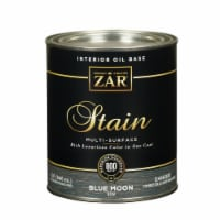 ZAR  Semi-Transparent  Blue Moon  Oil-Based  Wood Stain  1 qt. - Case Of: 4; - Case of: 4