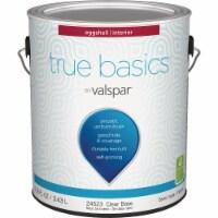 True Basics by Valspar Eggshell Interior Wall Paint, 1 Gal., Clear Base