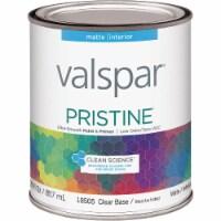 Valspar Int Matte Clr Bs Paint 027.0018505.005 - 1 Qt.