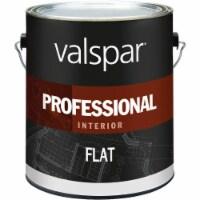 Valspar Professional Latex Flat Interior Wall Paint, Light Base, 1 Gal. - 1 Gal.