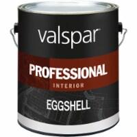 Valspar Professional Latex Eggshell Interior Wall Paint, High Hide White, 1 Gal.