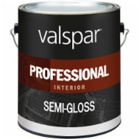 Valspar Professional Latex Semi-Gloss Interior Wall Paint, Neutral Base, 1 Gal. - 1 Gal.