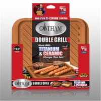 Gotham Steel 1220 Double Sided Non-Stick Grill-Griddle