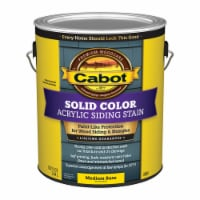 Cabot  Solid  Tintable Medium Base  Water-Based  Acrylic  Siding Stain  1 gal. - Case Of: 4; - Case of: 4