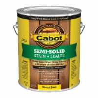Cabot  Semi-Solid  Tintable Neutral Base  Oil-Based  Penetrating Oil  Deck and Siding Stain - Case of: 4