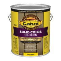 Cabot Solid Tintable Deep Base Oil-Based Penetrating Oil Deck Stain 1 gal. - Case Of: 4; Each - Case of: 4