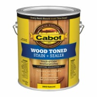 Cabot  Transparent  Natural  Oil-Based  Penetrating Oil  Deck and Siding Stain  1 gal. - Case - Case of: 4