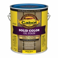 Cabot Solid Tintable White Base Oil-Based Deck Stain 1 gal. - Case Of: 4; Each Pack Qty: 1 - Case of: 4