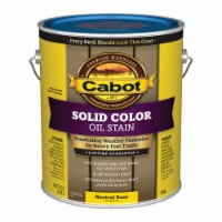Cabot  Solid  Tintable 7606 Neutral Base  Oil-Based  Deck Stain  1 gal. - Case Of: 4; Each - Case of: 4