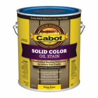 Cabot  Solid  Tintable 7607 Deep Base  Oil-Based  Deck Stain  1 gal. - Case Of: 4; - Case of: 4