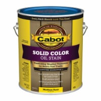 Cabot  Solid  Tintable 7608 Medium Base  Oil-Based  Deck Stain  1 gal. - Case Of: 4; Each - Case of: 4