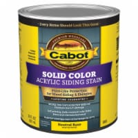 Cabot Solid Tintable Neutral Base Water-Based Acrylic Siding Stain 1 qt - Case Of: 4; - Case of: 4
