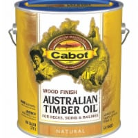 Cabot  Transparent  Neutral  Oil-Based  Natural Oil/Waterborne Hybrid  Australian Timber Oil - Case of: 4