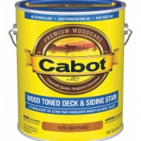 Cabot  Transparent  Heartwood  Penetrating Oil  Deck and Siding Stain  1 gal. - Case Of: 4; - Case of: 4