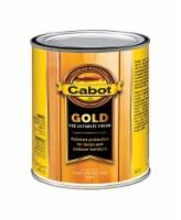 Cabot  Gold  Satin  3470 Sun-Drenched Oak  Deck Varnish  1 qt. - Case Of: 1; - Count of: 1