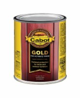 Cabot  Gold  Satin  Fireside Cherry  Deck Varnish  1 qt. - Case Of: 1; - Count of: 1