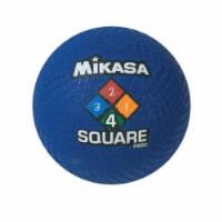 Mikasa Sports 1507816 8.5 dia. Rubber Cover Playground Ball, Blue - Round