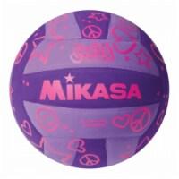 Mikasa Sports USA 1491899 Squish Volleyball - Purple, Round - 1