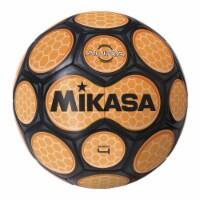 Mikasa Sports 1569084 Size 4 Aura Model Soccer Ball, Black & Neon Orange