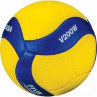 Mikasa 2019895 2020 FIVB Olympic Games Official Volleyball, Yellow & Blue - 1