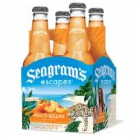 Seagram's Escapes Peach Bellini Style Cocktail Malt Beverage