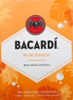 Bacardi Rum Punch Real Rum Cocktail