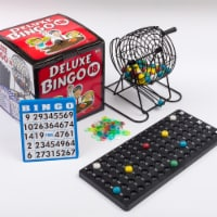 Regal Games Deluxe Bingo and Mexican Train Dominoes Board Game Set