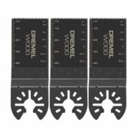 Dremel MM480B 1.69  QuickFit Steel Oscillating Wood Flush Cut Blades (3 Pack) - 1 Piece