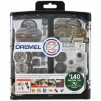 Dremel EZ725 70-Piece EZ All-Purpose Accessory Storage Kit - 1