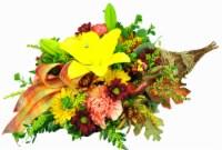 Floral Cornucopia Arrangement