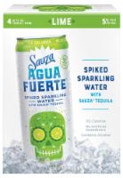 Sauza Agua Fuerte Lime Spiked Sparkling Water