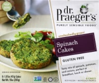 Dr. Praeger's Gluten Free Spinach Cakes