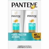 Pantene Pro-V Smooth & Sleek Shampoo and Conditioner Set 2 Count