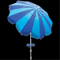 Rio UBT723-2019-1 7 ft. Beach Umbrella with Built in Sand Anchor - 1