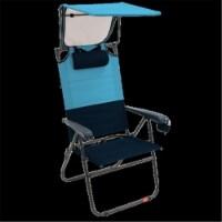 Rio GR643HCP-432-1 Hi-Boy Canopy Chair, Bluesky & Navy - Steel - 1