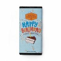 Seattle Chocolate Happy Birthday Cake Batter Milk Chocolate Truffle Bar - 2.5 oz