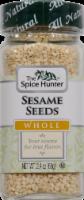 The Spice Hunter Whole Sesame Seeds - 2.4 Oz