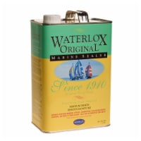 Waterlox  Medium  Clear  Oil-Based  Wood Finish  1 gal. - Case Of: 4; - Case of: 4