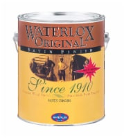 Waterlox Original Transparent Low Luster Clear Oil Antique Oil Finish 1 gal. - Case Of: 4; - Case of: 4