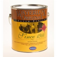 Waterlox  Satin  Clear  Oil-Based  Wood Finish  1 qt. - Case Of: 6; - Case of: 6